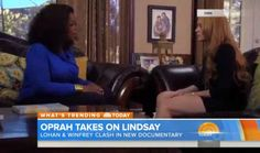 "Oprah Winfrey Puts Lindsay Lohan On Blast ""'You Need To Cut the Sh*t"" (video) : Old School Hip Hop Radio Station, Online Radio Station, News And Gossip"