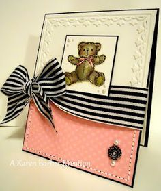 SU stamp set Teddies and Trains. Use for a CASed card with the Teddy Bear stamp from Anytime Greetings.
