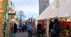Combine a great city break in the capital of the West Country with a spot of festive fun shopping at Exeter's fantastic Christmas market