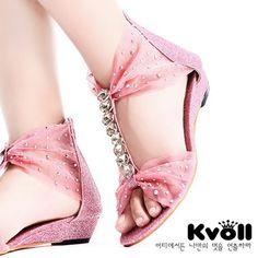 Kvoll princess comfortable rhinestone crystal diamond shoes women's flat sandals summer gladiator shoes female kvoll pumps luv