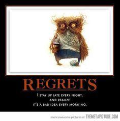 Funny Owl | funny-owl-sleepy-face-coffee