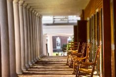Colonnade at the University of Virginia - by Thomas Jefferson - Gorgeous