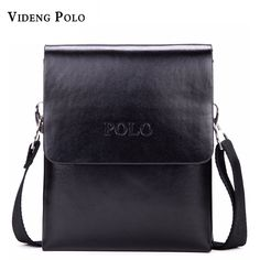 871dc2f575cd New POLO brand Fashion Business Men Shoulder bag designer handbag leather  bag men messenger crossbody bags. Mens Leather Laptop Bag ...