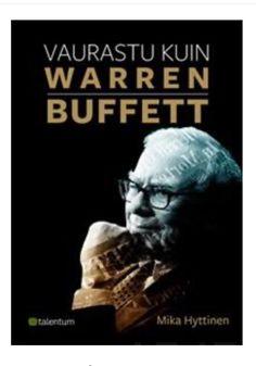#affiliate vaurastu kuin warren buffet e-kirja miljonäärin elämänkerta teemoina rikastuminen ja vaurastuminen #raha #sijoittaminen #vaurastuminen #miljonääri Warren Buffett, Raha, Movie Posters, Film Poster, Billboard, Film Posters