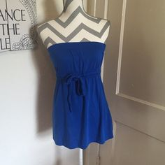 F21 nautical top Forever 21 tube top Royal blue Size small gently used Please ask for additional pictures, measurements, or ask questions before purchase No trades or other apps. Ships next business day, unless otherwise noted in my closet Reasonable offers accepted  Five star rating Bundle for discount Forever 21 Tops