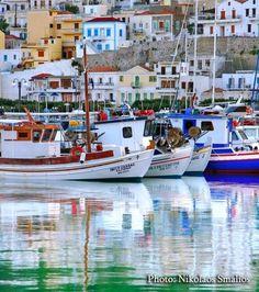 Κάλυμνος (Kalymnos) in Κάλυμνος Beautiful Islands, Beautiful Places, Best Rock, Ancient Greece, Greek Islands, Greece Travel, Crete, Rock Climbing, Around The Worlds