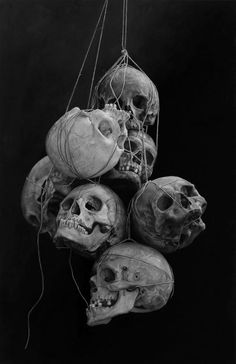 black-white-madness:  Madness:  Cindy Wright paintings