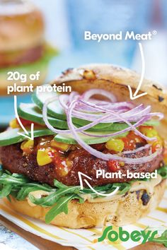 Beyond Meat - Safeway Low Carb Recipes, Vegetarian Recipes, Healthy Recipes, Diabetic Recipes, Healthy Habits, Healthy Foods, Plant Based Diet, Plant Based Recipes, Great Recipes