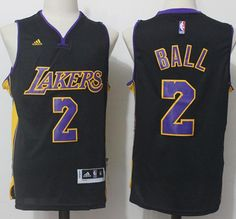 Lonzo Ball Black LOS ANGELES LAKERS Men s Swingman Jersey S-XL Our goal is  to provide customers with the most elite basketball jerseys on the market  at a ... 702244b8a