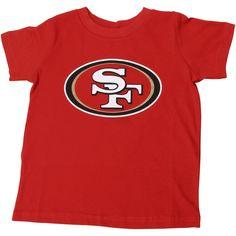San Francisco Infant Team Logo T-Shirt - Scarlet, Infant Unisex, Size: 24 Months, Red Nfl Gear, Shield Design, Uniform Design, San Francisco 49ers, New T, Team Logo, Short Sleeves, Man Shop, Unisex
