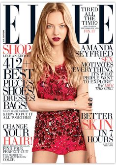 Amanda Seyfried by Carter Smith for American Elle