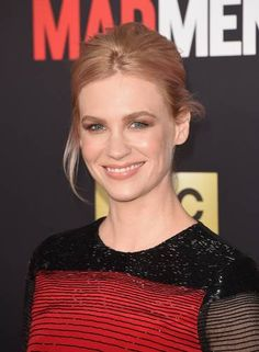 Close na beleza estonteante de January Jones Foto: Jason Merritt / AFP