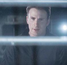 "Chris Evans as Steve Rogers in ""Captain America: Civil War"""