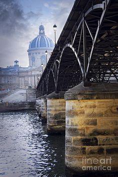 Bridge Over Seine In #Paris