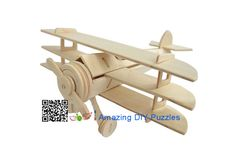 3d puzzle,3d wood jigsaw puzzle,3d diy toy,Best parent-child games,kids toy,fancy toy, intelligence toys, Educational Toys,blocks toys,DIY aviation aircraft toys,wooden toys, assembling toys,  Wooden Triplane