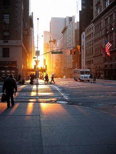 Early Morning Sunrise in New York City #WGTA #spsf