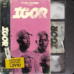 Tyler the Creator - IGOR Bedroom Wall Collage, Photo Wall Collage, Picture Wall, Poster S, Poster Wall, Poster Prints, Typography Poster, Cover Art, Tyler The Creator Wallpaper