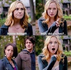 OMG - Love Caroline so much!