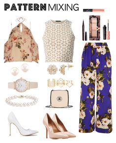 """Dare to mix"" by klionasopoulou on Polyvore featuring Dolce&Gabbana, Alexander McQueen, Exclusive for Intermix, Charlotte Russe, Salvatore Ferragamo, Blue Nile, Chanel, Physicians Formula, NARS Cosmetics and Benefit"