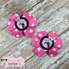 Daddy's Little Princess Pinwheel Bows (pair) ~ Everyday Bows ~ Small Bows ~ Photo Props ~ Clippies ~ Pigtail Bows by PunkyGirlBoutique on Etsy https://www.etsy.com/listing/220331819/daddys-little-princess-pinwheel-bows
