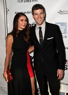 """Nina Dobrev and Austin Stowell attend the 53rd New York Film Festival - """"Bridge Of Spies"""" - Red Carpet Center on October 4, 2015 in New York City."""
