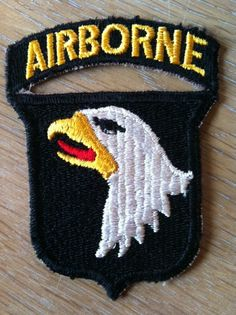 my dream is to have a real live airborne patch from wwII