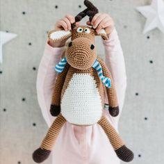 Mickey moose is now back in stock and we have free shipping going for one more day . Last chance to take advantage . #miannandco #keepsake #mickeymoose #toy
