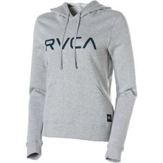 rvca women's sweatshirts | Big Rvca Pullover Hoodie - Womens - Snowboard Buyers Guide