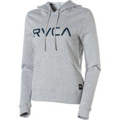 rvca women's sweatshirts | Big Rvca Pullover Hoodie - Womens - Snowboard Buyers Guide