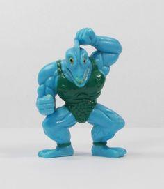 Monster Wrestlers In My Pocket - W5 Shark Bite - Mini Toy Figure
