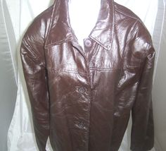 Tudor Court  Patchwork Leather Jacket -Medium (Size XX) #Haband #BasicJacket