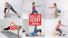 You don't need a ton of time or equipment to be your best! These top ten exercises for roller derby athletes will help make you unstoppable out there.