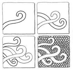 Zentangle Patterns | Found on blog.suzannemcneill.com