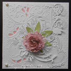 beautiful card and die done by Selma        http://4.bp.blogspot.com/-EVqI4Bnezo4/Ti4Rg6EUtnI/AAAAAAAADBs/-2zoiT0DW6w/s1600/Sweet-William-die-.jpg
