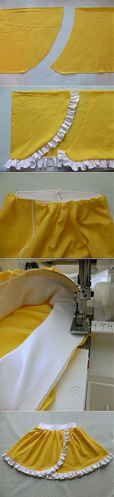 Skirt with imitation of a smell: Diary of 'Авторские group sewing lessons. modeling, cut, технология' - Country of Mothers // Людмила Чернецкая Baby Girl Frocks, Frocks For Girls, Little Girl Dresses, Girls Dresses, Kids Dress Patterns, Sewing Patterns, Little Girl Fashion, Kids Fashion, Sewing Clothes