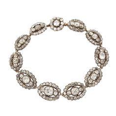 Georgian Old Mine Diamond Bracelet