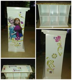 Custom Disney Frozen Chest Of Drawers Designed By Lydia