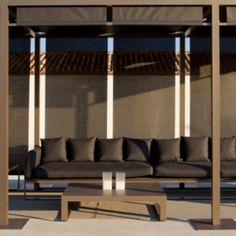 Flat designed by Mario Ruiz and pergolas by Gandia Blasco  Find it at www.mirsa.es !!