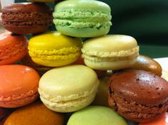 French Macarons from the Pastry Shop