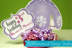 Sofia The First Inspired Centerpiece with Glamour by itzwhimzeycal, $18.00