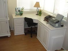 Home Office Cabinets Built in Desk – Home Office Design Corner Cozy Home Office, Home Office Design, Home Office Decor, Home Decor, Built In Desk, Built In Cabinets, Built Ins, Corner Cabinets, Corner Furniture