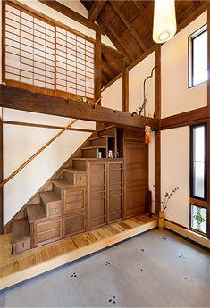 Asian Furniture, Japanese House, Coffee Shop, Aesthetics, Farmhouse, Spaces, Interior Design, Architecture, Building