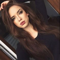 40 Most Beautiful and Easy Hairstyles for Long Curly Hair Hair Color chocolate hair color Brown Hair Shades, Light Brown Hair, Brown Hair Colors, Hair Colours, Dark Brown Hair Rich, Long Brown Hair, Ash Brown, Brown Hair With Highlights, Brown Blonde Hair