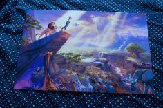 Thomas Kinkade Disney The Lion King 8x12 Print | eBay $35