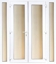 White UPVC PVC PUVC French Patio Door - Can Deliver - Brand New in Stock! | eBay