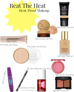 Beat The Heat: Heat-Proof Makeup Perfect for Summer!