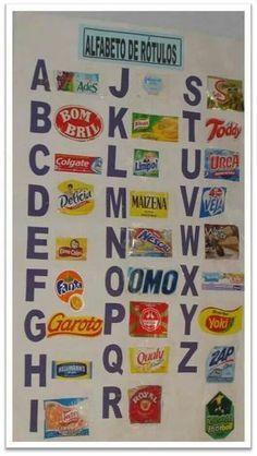 Alfabeto de rótulos                                                                                                                                                      Mais