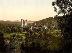 Beautiful A4 Glossy Print 'Balmoral Castle' Scotland - Taken From An Original Vintage Photocrom Image Circa 1900 by Unknown http://www.amazon.co.uk/dp/B00779699S/ref=cm_sw_r_pi_dp_EJinvb0MANGDS