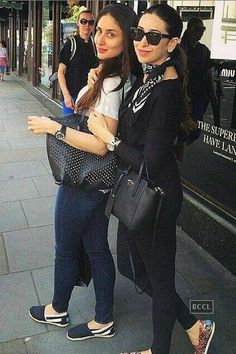 & sister Karisma, PICS: Kareena Kapoor, Saif Ali Khan's family vacation in London