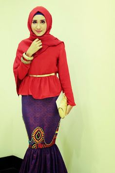 HerWorld - Most Powerful Woman and Young Achiever Intimate Gathering #DianPelangi #Red #Hijab